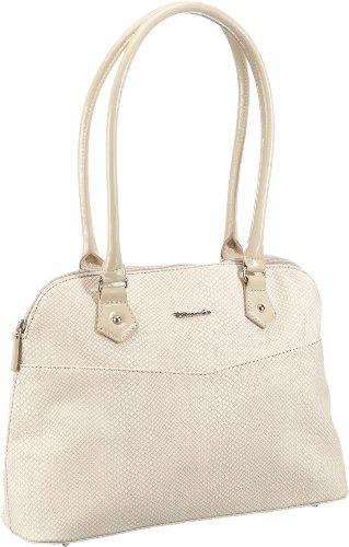 Beige Boston Bag (Tamaris FILIPPA Boston Bag A-1-100-07-303, Damen Henkeltaschen, Beige (taupe 341), 35x27x12 cm (B x H x T))