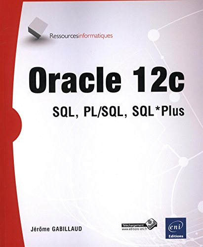 Oracle 12c - SQL, PL/SQL, SQL*Plus