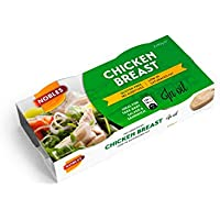 Nobles Pechuga de Pollo en Aceite de Girasol Healthy Canned Chicken Breast in Sunflower Oil Ready to Eat ideal for Salad and Sandwich Ideas. 26% Protein, 96,5% Fat Free and Low Sugar Food - Paquete de 16 x 180 gr - Total: 2880 gr