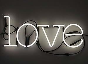 """Composizione """"Love"""" 4 Lettere Neon+Trasformatore 01424 - 6Kv"""