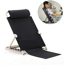 Respaldo de cama ajustable apoyo reposacabezas de pie libre y alineación de posición para la lectura