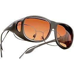 Cocoons Overxcast Gafas de sol, unisex, color Negro - cobre, tamaño mediano