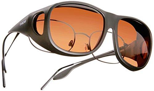 Cocoons Overxcast Sonnenbrille Medium schwarz - Kupfer