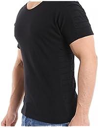 3909ee7b4043e2 Redbridge Herren T-Shirt Casual RIPP Basic Freizeit Shirt aus Baumwolle