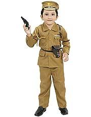 Chandrika Police Costume Dress for Kids (4-5 Years)