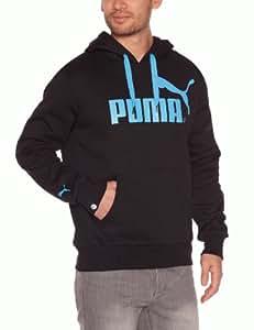 Puma Foundation Veste à capuche homme Noir/Bleu M