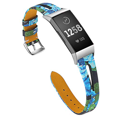 QHJ Pulsera para Fitbit Charge 3