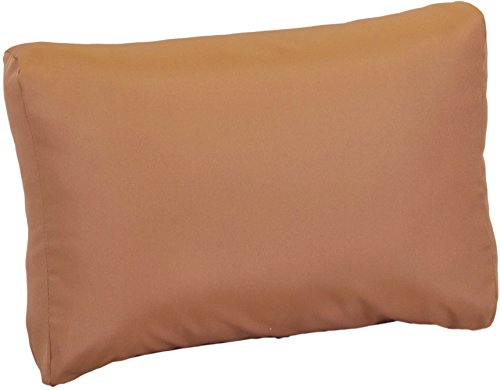 Gartenstuhl-Kissen Premium Lounge Rückenkissen Palettenkissen im Farbton sand ca. 70 x 40 cm aus 100% Polyester wasserabweisend