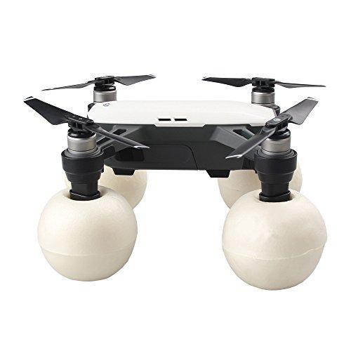 Erhöhte Bein (PENIVO Protector SPARK Wasseroberfläche Start / Lande Set, schwimmende Ball Erweiterte Fahrwerk Kit für DJI Spark Erhöhte Beine Drohne Zubehör (Schwarz))