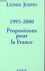 1995-2000 : Propositions pour la France