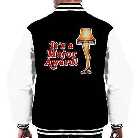Its A Major Award Christmas Lamp Men's Varsity Jacket