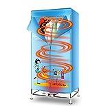 ZT Portatile Abiti Asciugatrice Elettrico Lavanderia Essiccazione Cremagliera 33 LB Capacità Risparmio Energetico (Anione) Essiccatore Pieghevole Asciugatura Veloce