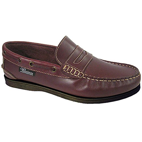 Coolers , Chaussures bateau pour homme Rouge - Bois rouge