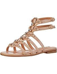 Buffalo Damen 15bu0230 Leather Pu Römersandalen