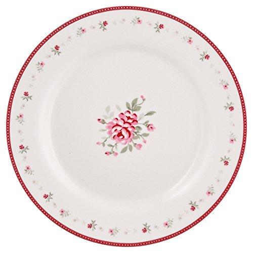 Greengate STWPLAFLO9606 Flora Assiette de Petit-déjeuner Vintage 20,5 cm