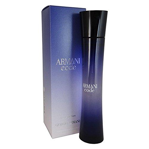 Armani Armani Code woman, Eau de Parfum, 75 ml, 1er Pack (1 x 75 ml), Gestaltung sortiert
