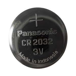 5 pack Panasonic CR2032 3v Lithium Knopf Knopfzelle Batterien