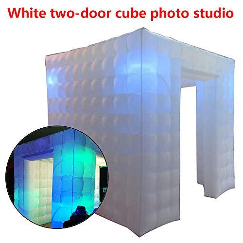 SENDERPICK - Carpa Hinchable para Cabina de Fotos, 2 Puertas, 2,25 m,...