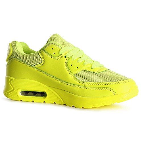 topschuhe24, Sneaker donna Gelb