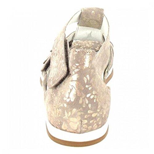 Waldläufer 351802/112 102, Sandales pour femme lightgold