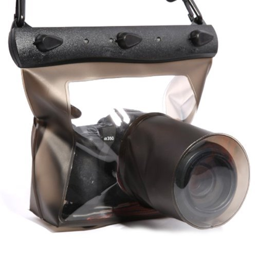 20m impermeabile subacquea Custodia DSLR SLR per Canon 6d 600d