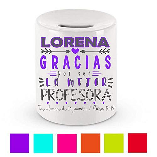 Hucha Cerámica/Profesora /