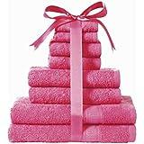 [Patrocinado]Kingsley toalla 8 Piezas paca (cereza)