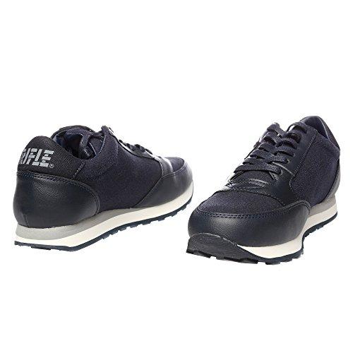 RIFLE Chaussures Femme, Style Course Avec Lacets. mod. 162-W-316-447 Bleu