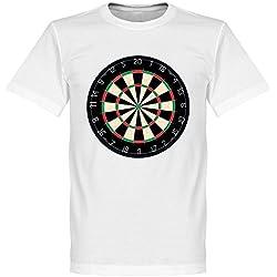 Stand Up si te gusta el dardos camiseta, Unisex, blanco, XL