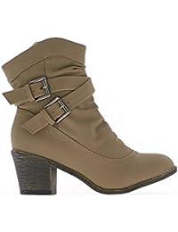 c5f228979 Amazon.es  ChaussMoi - Botas   Zapatos para mujer  Zapatos y ...