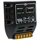 Anself 10A 12V/24V Solar Charge Controller Solar Panel Battery Regulator Safe Protection