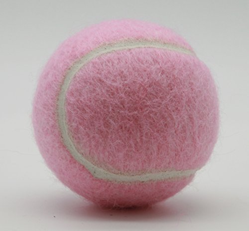Price's Pastel Colour Type 2 Tennis Balls Made in the UK (3 x Pale Pink)