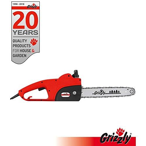 Grizzly Tronçonneuse électrique (avec engrenages en...
