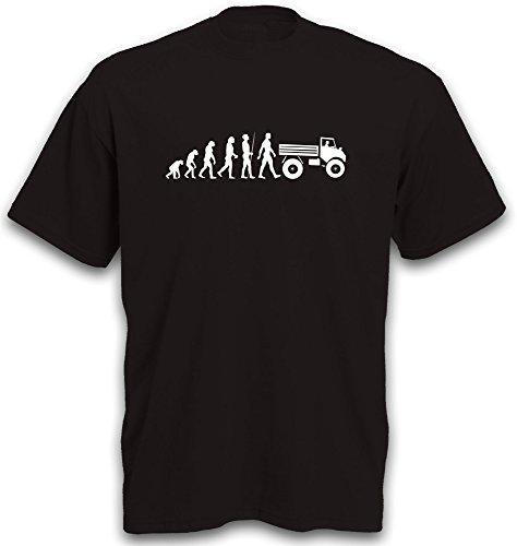 T-Shirt Evolution Unimog 406 Motiv Landmaschine Traktor Schlepper Gr. M