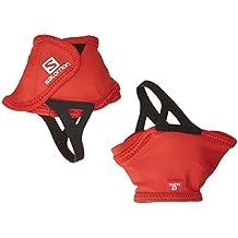 Salomon Trail Gaiters Low - Polainas, color rojo, talla M