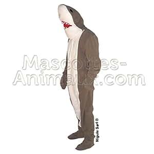 Déguisement Mascotte Requin Adulte .