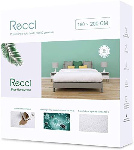 Recci Cubre Colchón 180x200 - Funda Colchón 180x200
