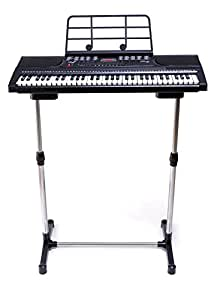 FULL SIZE DIGITAL TEACHING KEYBOARD 61 KEYS WITH STAND INCLUDED