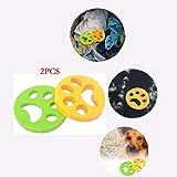 Jiang Hui Haustier haarentferner für Wäsche Pet Hair Catcher Reinigung Ball Tierhaarentferner für Waschmaschine für Hundehaar, Katzenfell und alle Haustiere