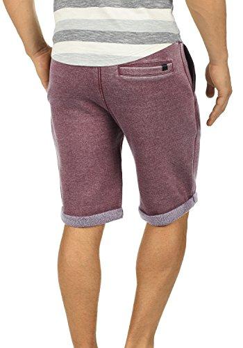 BLEND Jonny Herren Sweat-Shorts kurze Hose Sport-Shorts aus hochwertiger  Baumwollmischung Meliert Wine ...