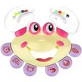 FAMI Baby Crab-Design Handbell, Instruments de musique Jingle Rattle Toy