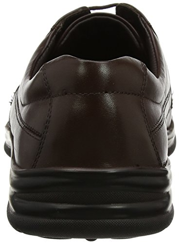 Hush Puppies Mens Cobi Derby Brown (marrone)