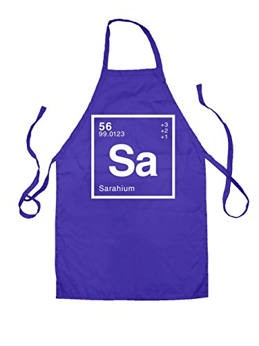 Dressdown SARAH Periodic Element Kids Unisex Fit Apron - 4 Colours