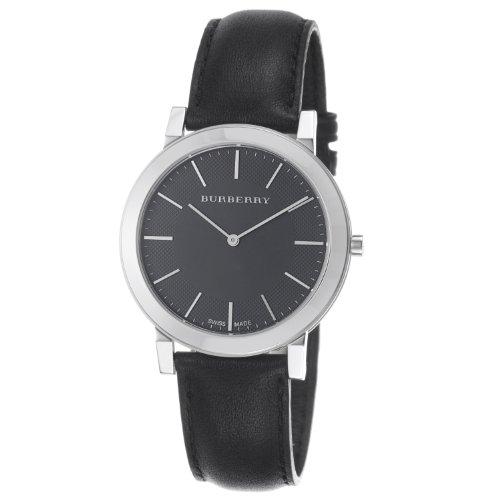 BURBERRY BU2351 - Reloj de Pulsera Hombre, Color Negro
