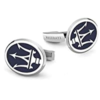Chic Maserati Logo French Shirts Cufflinks For Men Fashion Men's Jewelry