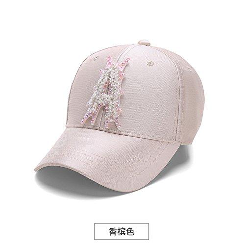LLZTYM Casquette/Femme/Large Avant-Toit/Voyage/Suncap/Sun Cap/Tête/Cadeau/Cadeau Pink