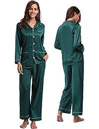 cca229bc7e Amazon.co.uk  Green - Pyjama Sets   Nightwear  Clothing