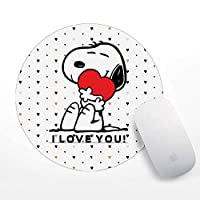 Snoopy i love You Mouse Pad