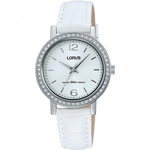 Lorus Womens Analogue Classic Quartz Watch with Leather Strap RG261KX9