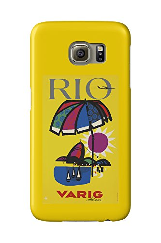 varig-rio-vintage-poster-artist-anonymous-brazil-c-1955-galaxy-s6-cell-phone-case-slim-barely-there